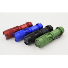 High Power Clip Mini Zoom Lampe de poche